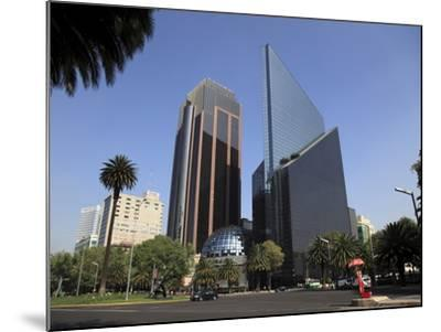 Mexican Stock Exchange Building, Centro Bursatil, Paseo De La Reforma, Reforma, Mexico City, Mexico-Wendy Connett-Mounted Photographic Print