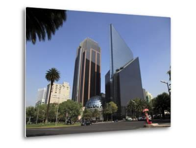 Mexican Stock Exchange Building, Centro Bursatil, Paseo De La Reforma, Reforma, Mexico City, Mexico-Wendy Connett-Metal Print