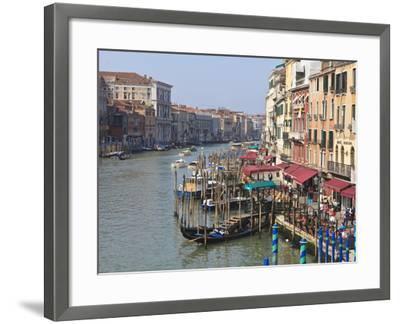 Grand Canal, Venice, UNESCO World Heritage Site, Veneto, Italy, Europe-Amanda Hall-Framed Photographic Print
