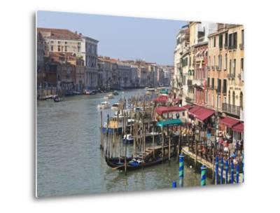 Grand Canal, Venice, UNESCO World Heritage Site, Veneto, Italy, Europe-Amanda Hall-Metal Print