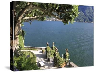 View From Villa Balbianello, Lenno, Lake Como, Lombardy, Italy, Europe-Vincenzo Lombardo-Stretched Canvas Print