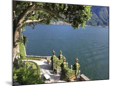 View From Villa Balbianello, Lenno, Lake Como, Lombardy, Italy, Europe-Vincenzo Lombardo-Mounted Photographic Print