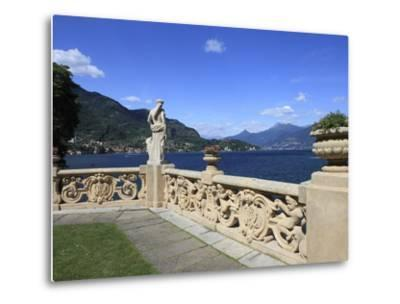 View From Terrace, Lenno, Lake Como, Lombardy, Italy, Europe-Vincenzo Lombardo-Metal Print