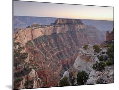 View From Cape Royal at Dusk, North Rim, Grand Canyon National Park, Arizona, USA-James Hager-Mounted Photographic Print