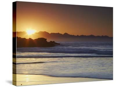 Sunrise at Plettenberg Bay, Western Cape, South Africa, Africa-Ian Trower-Stretched Canvas Print