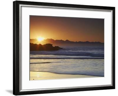 Sunrise at Plettenberg Bay, Western Cape, South Africa, Africa-Ian Trower-Framed Photographic Print