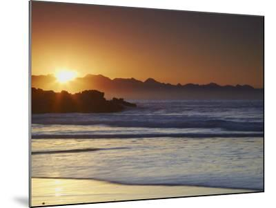 Sunrise at Plettenberg Bay, Western Cape, South Africa, Africa-Ian Trower-Mounted Photographic Print