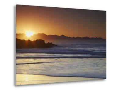 Sunrise at Plettenberg Bay, Western Cape, South Africa, Africa-Ian Trower-Metal Print