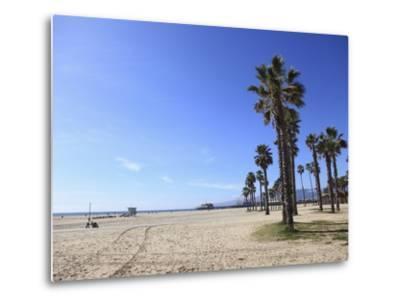 Santa Monica, Los Angeles, California, United States of America, North America-Wendy Connett-Metal Print