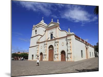 Parroquia De La Asuncion, Masaya, Nicaragua, Central America-Wendy Connett-Mounted Photographic Print