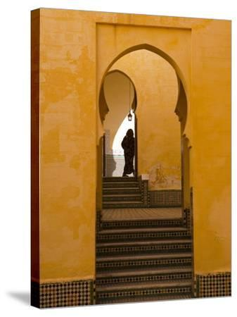 Mausoleum of Moulay Ismail, Meknes, Morocco, North Africa, Africa-Marco Cristofori-Stretched Canvas Print