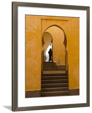 Mausoleum of Moulay Ismail, Meknes, Morocco, North Africa, Africa-Marco Cristofori-Framed Photographic Print