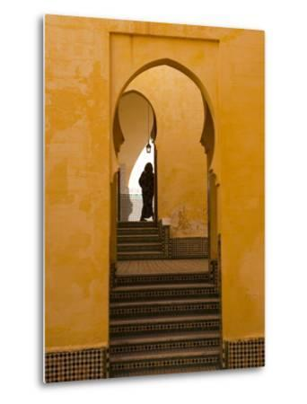 Mausoleum of Moulay Ismail, Meknes, Morocco, North Africa, Africa-Marco Cristofori-Metal Print