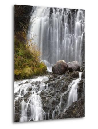 Flowerdale Falls, a Waterfall Near the Village of Gairloch, Torridon, Scotland, United Kingdom-Lee Frost-Metal Print