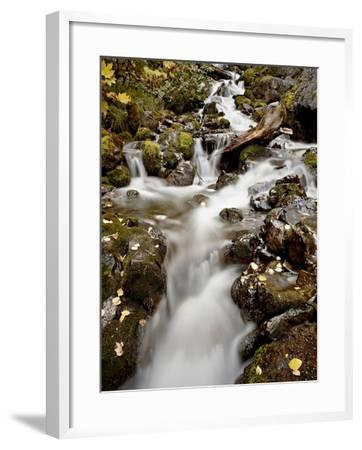 Cascade at Pioneer Falls, Alaska, United States of America, North America-James Hager-Framed Photographic Print