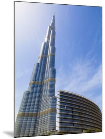 Burj Khalifa, the Tallest Man Made Structure in the World at 828 Metres, Downtown Dubai, Dubai, Uae-Amanda Hall-Mounted Photographic Print