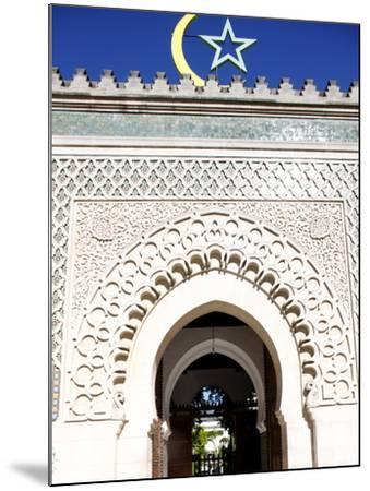 Main Door of the Paris Great Mosque, Paris, France, Europe--Mounted Photographic Print