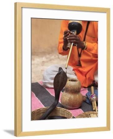 Snake Charmer, Rajasthan, India, Asia--Framed Photographic Print