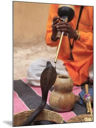 Snake Charmer, Rajasthan, India, Asia--Mounted Photographic Print