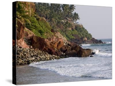 Kovalam Beach, Trivandrum, Kerala, India, Asia--Stretched Canvas Print