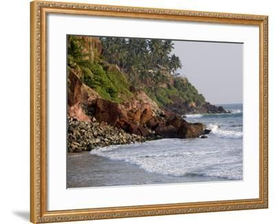 Kovalam Beach, Trivandrum, Kerala, India, Asia--Framed Photographic Print