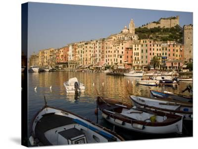 Portovenere, Cinque Terre, UNESCO World Heritage Site, Liguria, Italy, Europe--Stretched Canvas Print