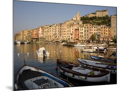 Portovenere, Cinque Terre, UNESCO World Heritage Site, Liguria, Italy, Europe--Mounted Photographic Print