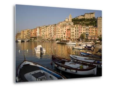 Portovenere, Cinque Terre, UNESCO World Heritage Site, Liguria, Italy, Europe--Metal Print
