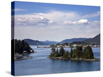 Small Islands in Sitka Sound, Baranof Island, Southeast Alaska, USA--Stretched Canvas Print