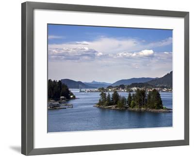 Small Islands in Sitka Sound, Baranof Island, Southeast Alaska, USA--Framed Photographic Print
