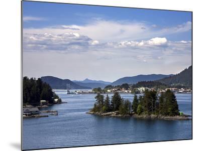 Small Islands in Sitka Sound, Baranof Island, Southeast Alaska, USA--Mounted Photographic Print