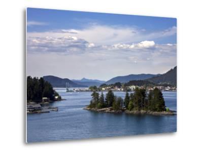 Small Islands in Sitka Sound, Baranof Island, Southeast Alaska, USA--Metal Print