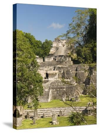 Great Plaza, North Acropolis, Tikal, UNESCO World Heritage Site, Tikal National Park, Guatemala--Stretched Canvas Print