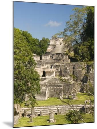 Great Plaza, North Acropolis, Tikal, UNESCO World Heritage Site, Tikal National Park, Guatemala--Mounted Photographic Print