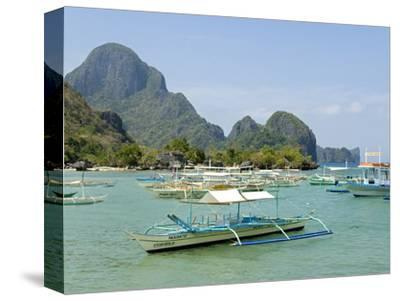 El Nido, Bacuit Bay, Palawan, Philippines, Southeast Asia, Asia--Stretched Canvas Print