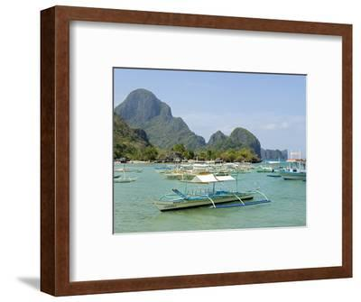 El Nido, Bacuit Bay, Palawan, Philippines, Southeast Asia, Asia--Framed Photographic Print