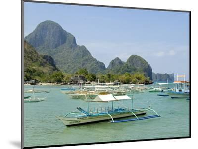 El Nido, Bacuit Bay, Palawan, Philippines, Southeast Asia, Asia--Mounted Photographic Print
