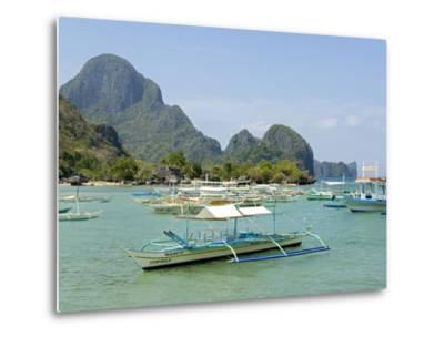El Nido, Bacuit Bay, Palawan, Philippines, Southeast Asia, Asia--Metal Print