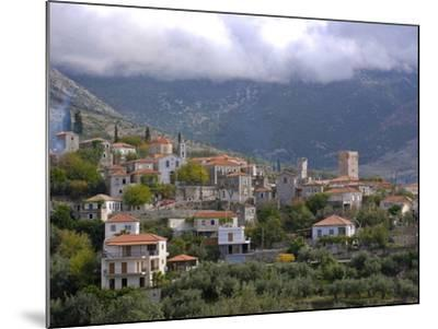 Little Mountain Village in the Lakonian Mani, Peloponnese, Greece, Europe--Mounted Photographic Print