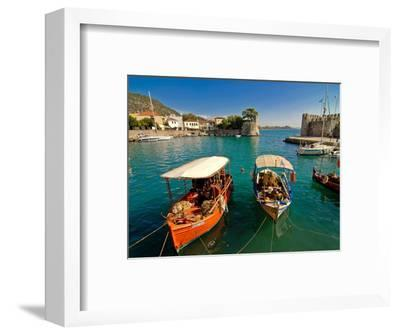 The Harbour of Nafpaktos, Central Greece, Greece, Europe--Framed Photographic Print