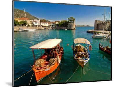 The Harbour of Nafpaktos, Central Greece, Greece, Europe--Mounted Photographic Print