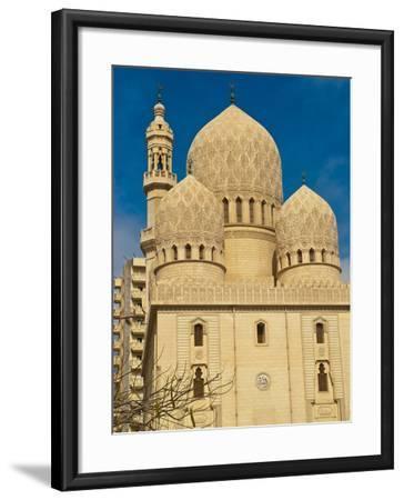 Abu El-Abbas Mosque, Alexandria, Egypt, North Africa, Africa--Framed Photographic Print