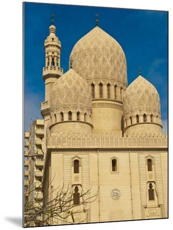 Abu El-Abbas Mosque, Alexandria, Egypt, North Africa, Africa--Mounted Photographic Print