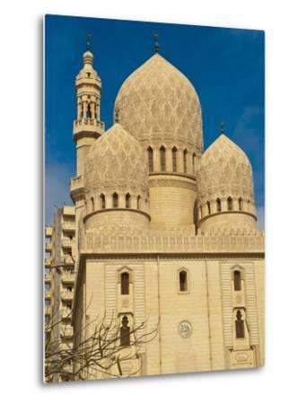 Abu El-Abbas Mosque, Alexandria, Egypt, North Africa, Africa--Metal Print