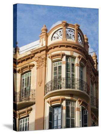 Modernist (Art Deco) Building, Juan Carlos I Avenue, Melilla, Spain, Spanish North Africa, Africa--Stretched Canvas Print