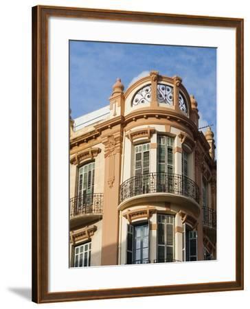 Modernist (Art Deco) Building, Juan Carlos I Avenue, Melilla, Spain, Spanish North Africa, Africa--Framed Photographic Print
