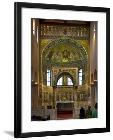 The 6Th Century Euphrasian Basilica, UNESCO World Heritage Site, Porec, Istria, Croatia, Europe--Framed Photographic Print