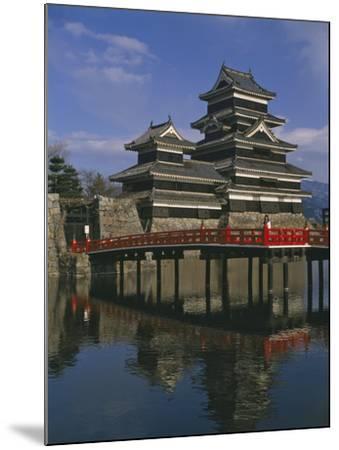 Matsumoto Castle and Moat, Nagano Ken, Japan, Asia--Mounted Photographic Print