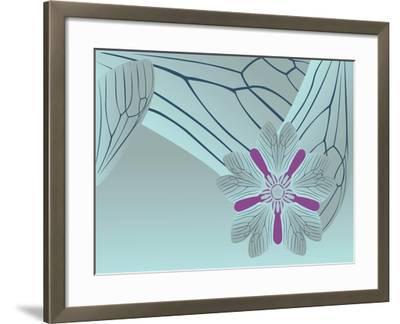 Cool Blue Tora Night-Belen Mena-Framed Giclee Print