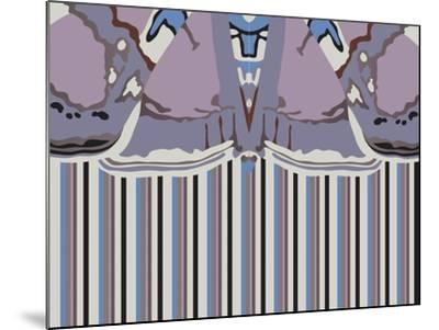 Violet Striped Ascension-Belen Mena-Mounted Giclee Print